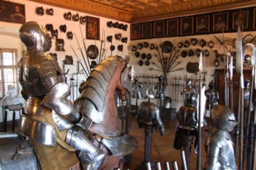 The State Castle Opocno - Arms and Armour