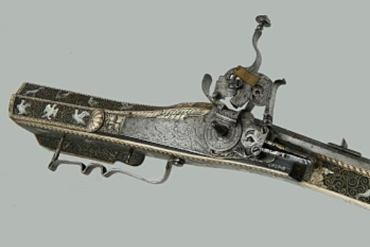 Wheellock rifle, Germany, 2nd half of the 17th century
