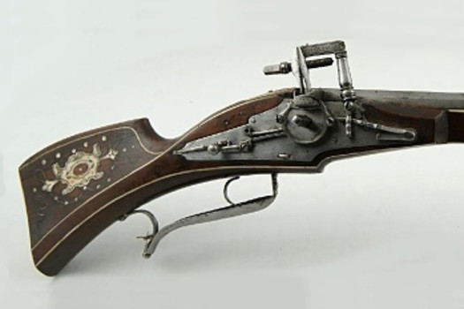 Wheellock carbine, belonged to the guard of the Salzburg archbishop Wolf Dietrich von Raitenau, Georg Zellner, Austria, early 17th century