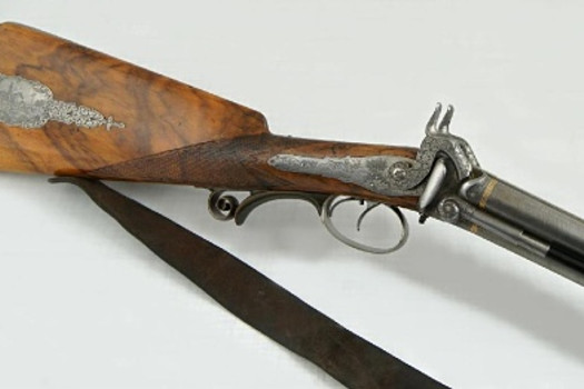 Three-barrelled rifle with percussion locks, Joseph Raidl, Austria (Stockerau), 1st half of the 19th century