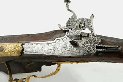 Whellock rifle, Paul Ignaz (and Paul?) Poser, Bohemia (Prague), 1st half of the 18th century