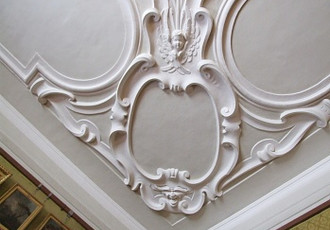 The State Castle Opočno - Stucco Decorations